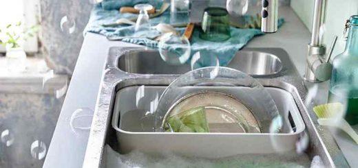comment laver vaisselle rapidement